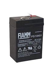 FG10451, аккумулятор 6В, 4.5АЧ, 70х47х100