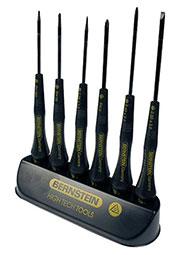 4-620, Набор отверток антистатических, 140-150мм, 3 шлиц/3 крест