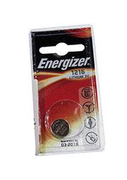 CR1216 ENRGIZER, батарейка Lithium CR1216 1шт 3V