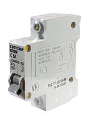 49060-06-С, автоматический выключатель 1 полюс 6А 230/400В тип С