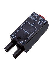 MODUL LD M32R, Модуль красный светодиод+диод (поляризация P), 24/60VDC, LED