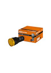 SQ0702-0072, AD-16DS(LED), лампа d16мм желтый 230В АС