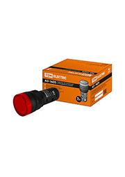 SQ0702-0051, AD-16DS(LED), лампа d16мм красный 12В AC/DC