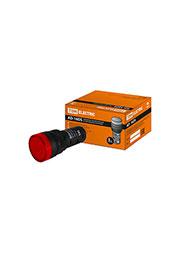 SQ0702-0071, AD-16DS(LED), лампа d16мм красный 230В АС