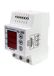 VP-380V, реле напряжения  3фазы DIN