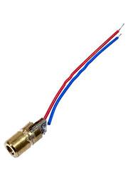 TXL-03, лазерный модуль 6x10мм, точка красный 5мВт 3В