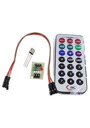 HX1838, ИК пульт и ИК приемник, комплект, 21 кнопка