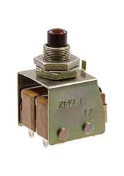Микропереключатель кнопочный КМ2-1, (18-20г.)