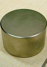 NEFEB 50х30х2, Неодимовый магнит - диск 50х30 мм