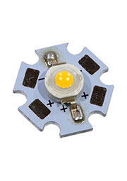ARPL-STAR-3W-BCX45 WARM WHITE, светодиод SMD белый теплый 3Вт