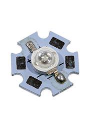 ARPL-STAR-3W-GES45 BLUE, светодиод SMD синий.d=20 мм, h=8 мм GENESIS 45 mi
