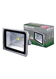 SQ0336-0004, Прожектор светодиодный СДО50-1 50Вт, серый,