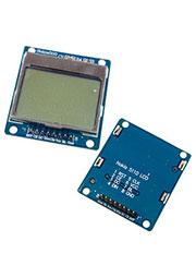 5110, ЖК 84*48 с голубой подсветкой, PCB адаптер