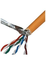 CSP-FTP-LSZH-4-CU, SkyNet Premium FTPнг-LSZH 4x2x0,51, кат.5e, однож., 305 м, box, оранж