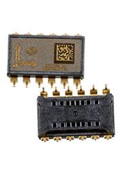 SCA100T-D01-004, 2-осный датчик наклона чувст 4В/g диапазон 0.5g  30град