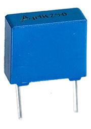 B32520C3104K, 250Vdc 160Vac 0.1uF +10% e:7.5mm MKT