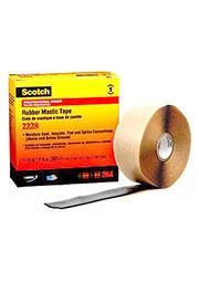 Scotch 2228, электротехническая резиново-мастичная лента, 50мм х 3м