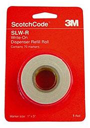 Scotchcode SLW-R, рулон маркерной ленты для SLW