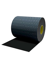 SJ5832, лента для нарезки черная 0.8мм толщина 229мм 66м длина