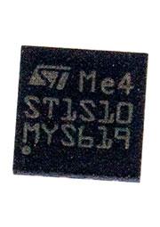 ST1S10PUR, DC-DC преобразователь интегральный - [DFN-8]; Тип: Buck; Uвх: 2.5...18 В; Uвых: 0.8...16
