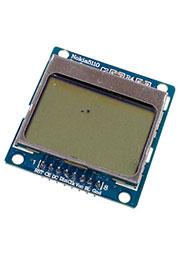 5110, ЖК 84*48 с голубой подсветкой, PCB адаптер     (УЦЕНКА)