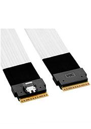 8ES8-1AA21-1.0, PCI Express x8 твинаксиальный кабель 0.5м
