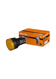 SQ0702-0021, Лампа AD-22DS(LED)матрица d22мм желтый 24В AC/DC