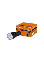 SQ0702-0050, Лампа AD-16DS(LED)матрица d16мм белый 12В AC/DC