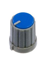 RR4853, Ручка приборная, диаметр вала 6 мм (синий круг)