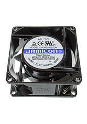 JA0838H2SON-L, вентилятор 220В 80х80х38мм втулка провода