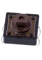 DTS-24N-V, кнопка тактовая 12x12 H-7.3 160gf
