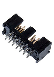 5103308-2, HDR 14 POS 2.54mm Solder ST Thru-Hole