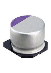 20SVP150M, полимерный конденсатор SMD 150мкФ, 20В, радиальн выв