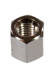 DI5M3x05, стойка латунная никелированная 5мм отв/отв