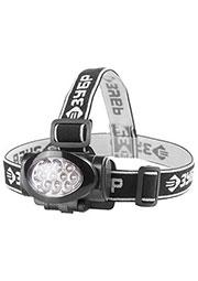 56438, Фонарь налобный cветодиодный 10Ulltra LED матричный рефлектор,3режима