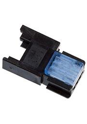 37303-A165-00EMB, IDC гнездо на кабель 3 контакта шаг 2мм 2А/1500В синее