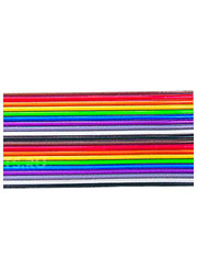 3302-34/100SF, плоский цветной кабель 1.27мм 34 жил 31 м