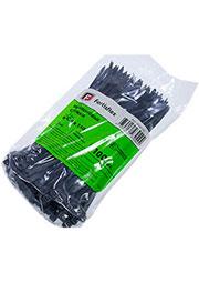 КСС 4*150 (ч), Стяжки нейлоновые черные с УФ защитой (100 шт)