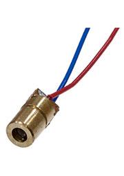 LM6R-dot-5V, лазерный модуль точка красная 6мм 5В 650нм 5мВт