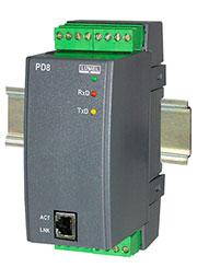 PD8 100E0, Преобразователь RS485/Ethernet