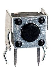KAN0631-0431B010-42, тактовая кнопка угл. 7x7мм (аналог 0743HIM-130G-G and TS-A1PV-130 DTSA-61K-V)