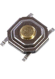 KAN0542-0155B-14, кнопка тактовая SMD 5.2х5.2 h1.5мм (IT-1187-160GM-G SWT-41)