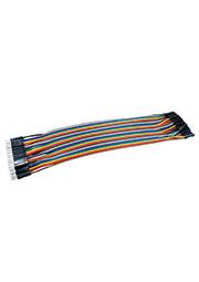 Jumper wire M-F, перемычки для п/п папа-мама 40шт длина 20см