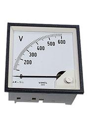 EA19N E61600000008, вольтметр 600В 96х96мм (ABB VLM-2-600/96)