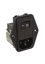2EDL1SC, сетевой фильтр 6609122-2 2A