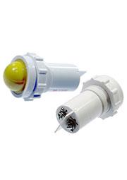 СКЛ14-Ж-2-220, Лампа полупроводниковая коммутаторная желтая 220В