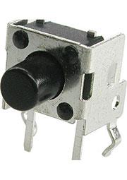 KLS7-TS6606-5.0-180, тактовая кнопка угловая 6x6 h=3.85мм