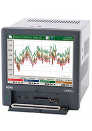 ND40 0000R0, Анализатор параметров сети (аналог 52.26.002 UMG509)