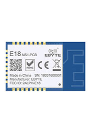 E18-MS1-PCB, Модуль Zigbee, SoC, CC2530, 4dBm