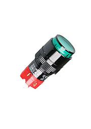 D16LMR1-1ABKG, кнопка без фикс. 250В/5А, LED подсветка 24В